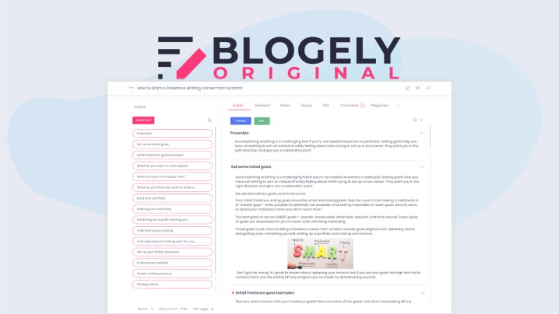 Blogely Software