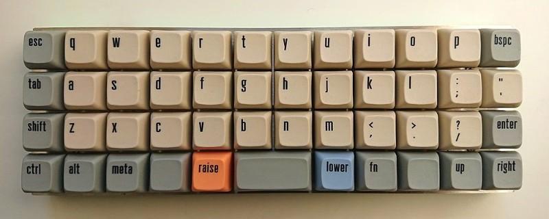 The 40 Percent Keyboard